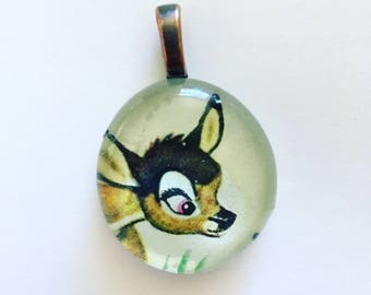 Golden Book Pendant Bambi