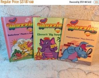 15% OFF 1980s Wuzzles Books Childrens Picture Books - Set of 3 Hasbro Bradley 1984