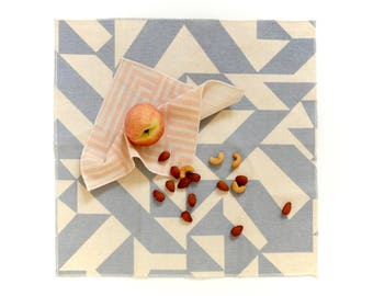 Dinner Napkin Set - Geometric Modern Cloth Napkins