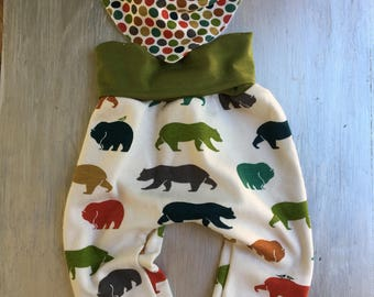 Bears Galore Baby Boy Outfit