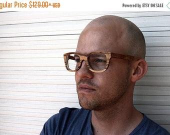 20% off SUMMER SALE Walker2012 Handmade Vintage Olive Wood Wooden Sunglasses Glasses Eyeglasses