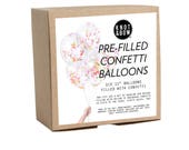 """Pre-filled Confetti Balloons / 11"""" Neon Set of 12"""