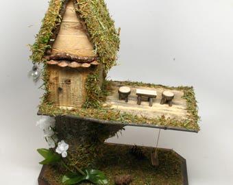Woods Fairy House Home