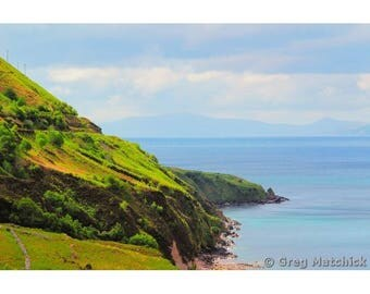 "Fine Art Color Photography of Ireland Landscape Ring of Kerry Wild Atlantic Way Coastline ""Ring of Kerry Coastline"""