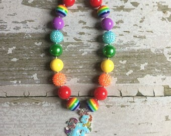 My Little Pony Necklace for Girls -Rainbow Dash Necklace Set- Rainbow Dash Necklace - My Little Pony Necklace - Holiday Necklace Gift Set