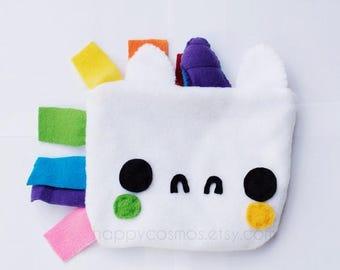 ON SALE - Unicorn Zipper Pouch - Pencil Pouch, Pencil Case, School Supplies, Make Up Bag, 3DS Case, Phone Case, Coin Purse