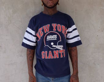 90s New York Giants Jersey Tee Shirt NFL Football