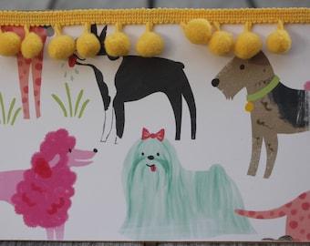 Birthday Card from the Dog,  Dog Mom Birthday Card, Dog Themed Birthday Card, Woof Woof Birthday Card, Dog Owner Birthday Card
