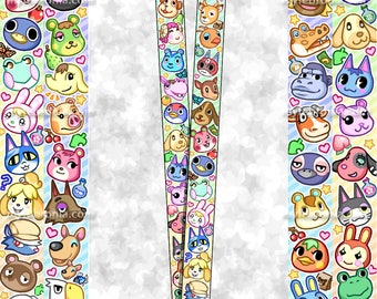 PREORDER-- Animal Crossing - Pocket Camp Lanyard