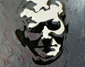Pope Wojtyla - 3D picture