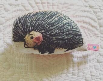 Porcupine Love Plush Rattle