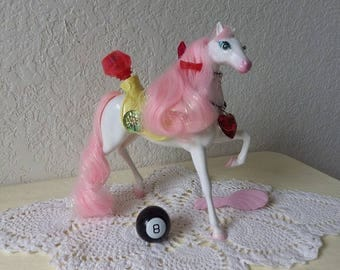 Ultra Rare Tyco Secret Wish Horse, STARLOVE.See Pics for all added Accessories.