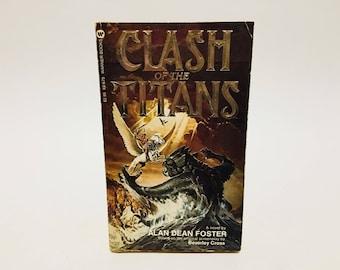 Vintage Fantasy Book Clash of the Titans Film Novelization 1981 Paperback