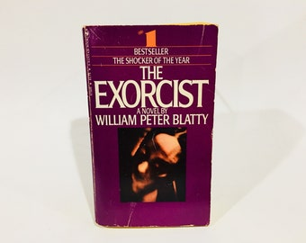 Vintage Horror Book The Exorcist by William Peter Blatty 1974 Paperback