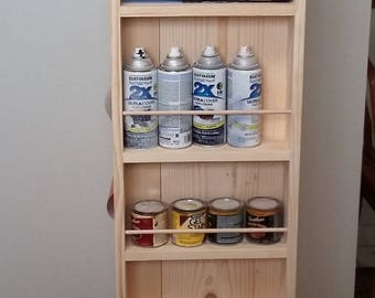 Craft supply tower organizer, storage on wheels.