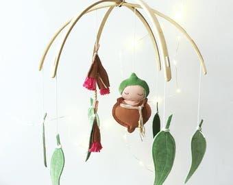 Gumnut Baby Nursery Mobile (custom)