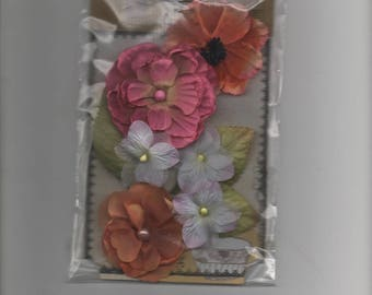 27898 decorations for your fabric and paper flowers cards
