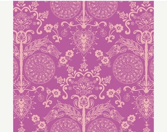 SALE 30% Off - Imperial Fuchsia (BA-404) - BAZAAR Style - Patricia Bravo for Art Gallery Fabrics - By the Yard