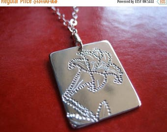 SALE Lily Sterling Silver Necklace