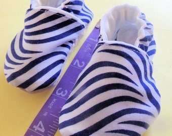Navy/White Wild Baby Shoes!