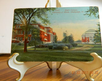 Postcard University of Illinois Champaign, Il Dated 1913