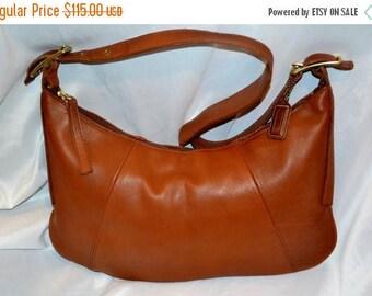 June Savings COACH~Coach Bag~Vintage Coach~British Tan* Eurgo Bag *Excellent Condition USA Made