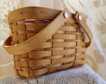 Longaberger, Basket, Picture Perfect Basket, Storage, Photos, Coupons