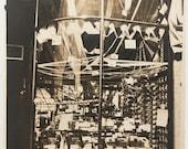"1915 Vintage Photo ""Gone Shopping"" Snapshot Antique Black & White Photograph Paper Found Ephemera Vernacular Interior Design Mood - 61"