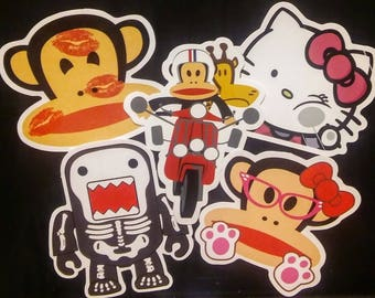 H. Kitty And Friends Stickers (5)