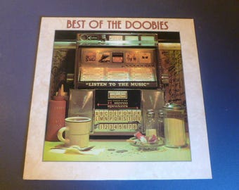 "The Doobie Brothers Best Of The Doobies "" Listen TO The Music"" Vinyl Record LP BSK 3112 Warner Bros. Records 1976"