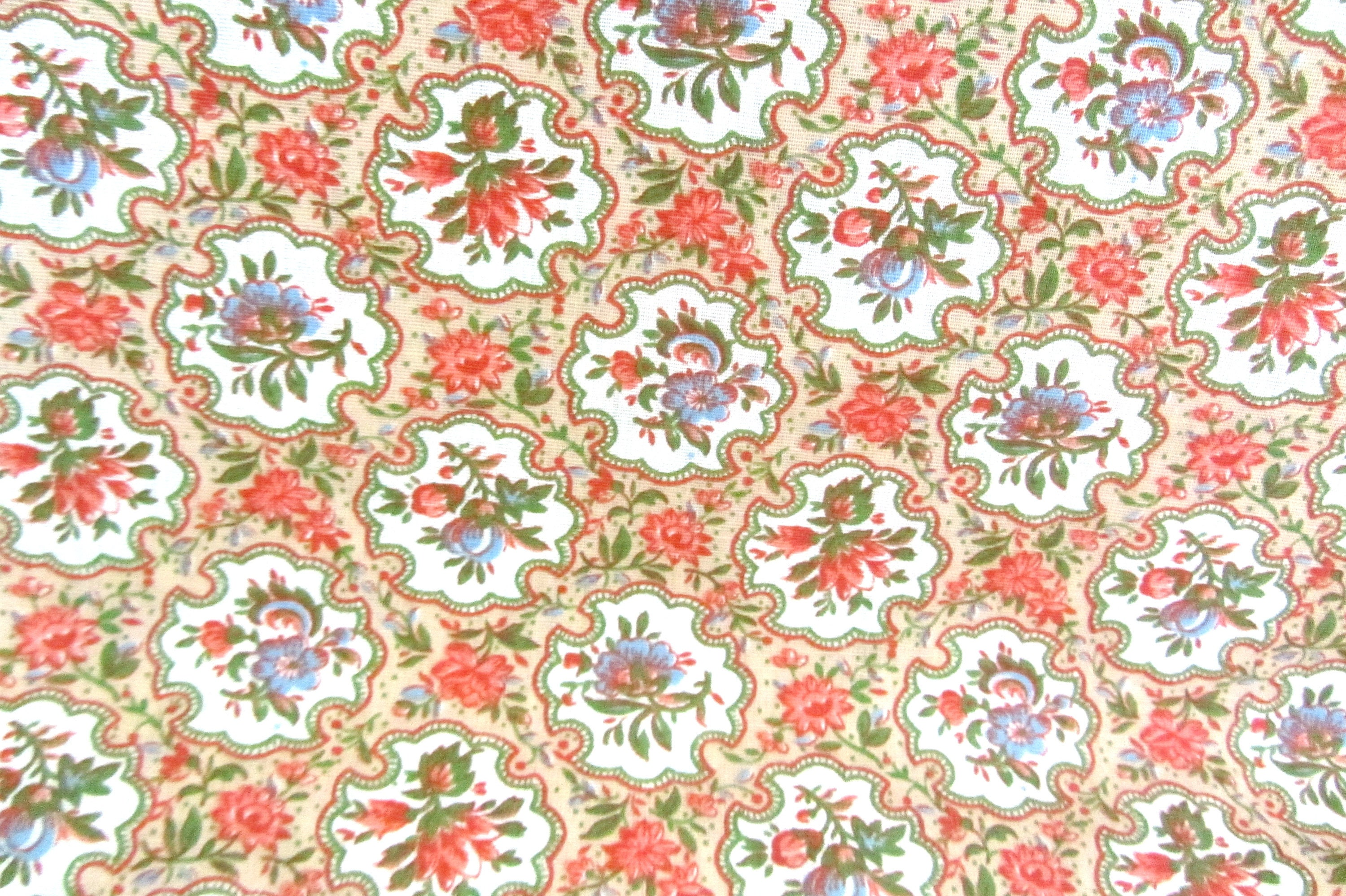 Cotton fabric 3 5 yds craft fabric fabric supplies for Fabric supply