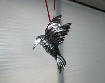 Tin hummingbird home decor