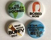 Buffy the Vampire Slayer Badges