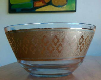 Mid Century Chip or Salad Bowl by Culver