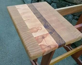 Endgrain bread board, cutting board, butcher block.
