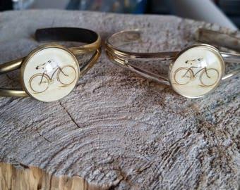 Bracelet petite merveille vélo (BR-34)