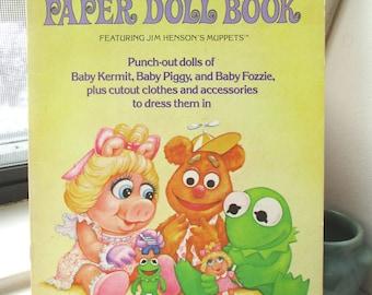 Jim Henson's Muppet Babies Paper Doll Book
