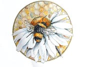 Telling the bees - Foggie toddler, a hand finished limited edition print no1/250