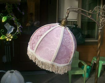 Beautiful New Pink/Mauve Brocade Lamp Shade 4 Bridge Lamp