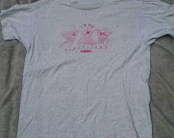 1990 Queenstown Triathlon vintage t shirt large Screen Stars