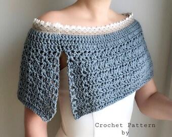 Crochet Pattern Women / Crochet Pattern / Crochet Poncho Pattern / Crochet Pattern Cape / Crochet Wedding Poncho