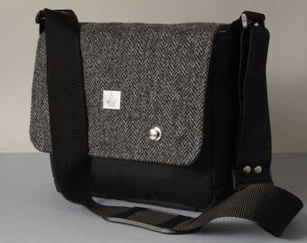 "iPad Pro 10.5"" or 12.9"" Messenger Bag with Harris Tweed option"