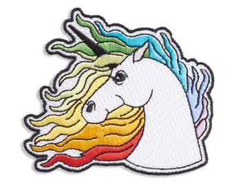 Unicorn Patch, Iron On Patch, Gift, Accessory, Art (PAT7)