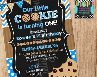 LITTLE COOKIE invitation - YOU Print