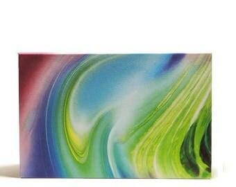 Magnetic palette custom makeup organizer storage anothersoul basic paper swirl rainbow