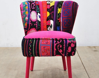 50's Clubchair - pink love