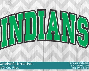Indians Arched SVG Files