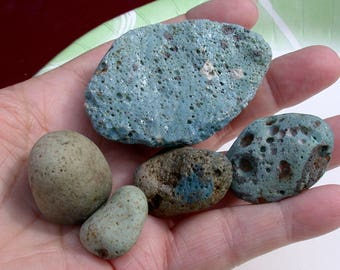Leland Blue/Green Beach Glass Pebbles  @(suzybones)