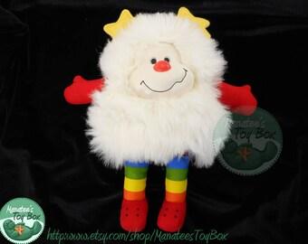 Rainbow Brite White Sprite Plush Twink: 1980s Toy