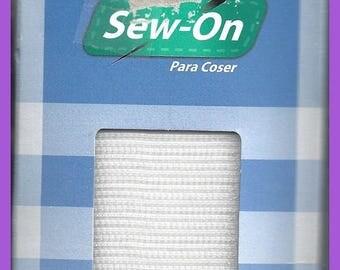 Wide Sew On VELCRO White 3 Feet 2 Inch